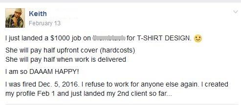 keith job